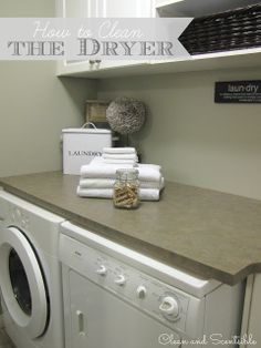 Great tutorial on how to clean your dryer to prevent dryer fires!  Definitely something to add to the To-Do list!