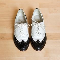 Vintage oxfords - a perfect pair.