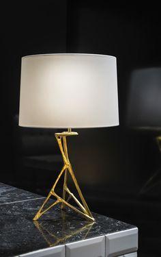 Félix Agostini; Cast Bronze 'Cocotte' Table Lamp, 1960.