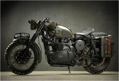 TRIUMPH GREAT ESCAPE | BY DRAGS & RACING | The best Steve McQueen replica I've seen - simply awesome!