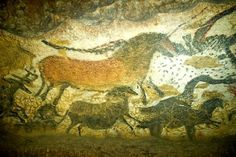 Cave art fascinates me - to think of the  creativity of prehistoric people...