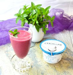 Berry Mint Yogurt Smoothie • Great Food and Lifestyle