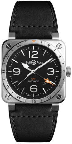 Bell & Ross BR 03-93 GMT — Пилотские GMT-часы от Bell & Ross