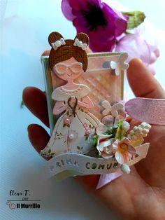 Piccole e delicate bomboniere, perfette per la comunione. Progetto a cura di Elena Tornani Coin Purse, Coin Purses, Purse