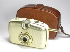 Camera and Photo Museum Kurt Tauber: Penti from Welta, an East German Rapid cassette camera made for women who wanted to carry cameras and look fabulous at the same time