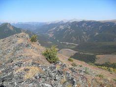 Pasque Mountain route