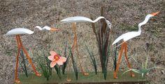 PVC Yard Birds