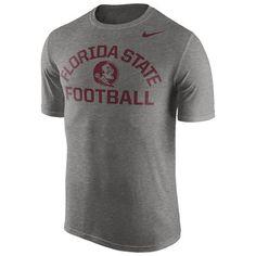 ed530ac1dc17 Men s Nike Gray Florida State Seminoles Legend Lift Performance T-Shirt