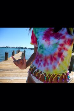 Tye dye - love the bottom!