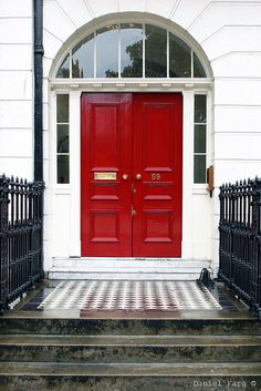 """""""I always liked being the girl behind the red door."""""""