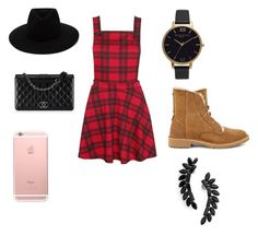 """""""Untitled #1"""" by sunshine10123 ❤ liked on Polyvore featuring UGG, Chanel, rag & bone, Olivia Burton and Cristabelle"""