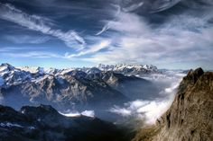 30 Best Examples of Great Nature Photography A Day on The Top of Mount Titlis by Evan Pratama Ludirdja