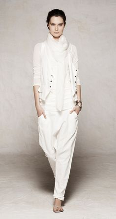 Sarah Pacini - Spring 2012. Maybe it's not the right clor for me.