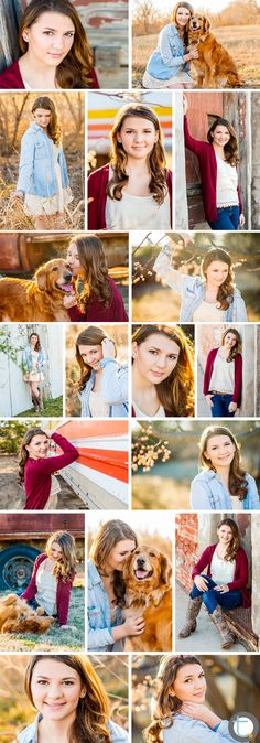 Dallas Teen Portrait Photographer  A teenage girl's rustic-urban / nature portrait session with her dog.  ©Tracy Allyn Photography 2014  -  Dallas, Texas photographer