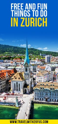 Free and fun things to do in Zurich. What can you do in Zurich for free? The city of Zurich is filled with attractions and sightseeing options that you can visit absolutely free. Road Trip Europe, Europe Travel Guide, Budget Travel, Travelling Europe, Travel Guides, Traveling, European Travel Tips, European Vacation, Ways To Travel