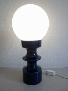 Cari Zalloni for Steuler - German pop art ceramic lamp 60s 70s Zyklon