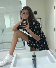 """337.3k Likes, 2,103 Comments - Kaia (@kaiagerber) on Instagram: """"foot position"""""""