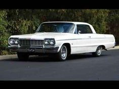 1964 Chevrolet Impala SS   Had one of these years ago in Daytona Blue. It had a 409 engine in it.