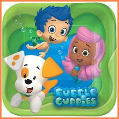 Birthday Party Supplies /& Favors Bubble Guppies Mini Dots Stickers 600 per Pack SmileMakers Inc