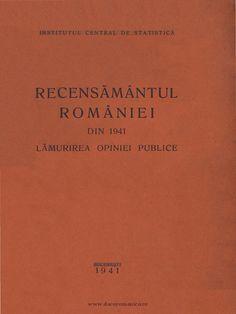I'm reading Recensamantul din 1941.pdf on Scribd