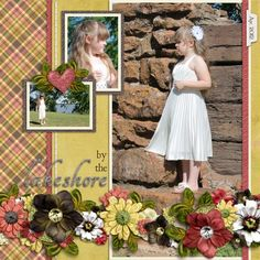 You Raise Me Up kit, Krafty Plaids, and cardstock by Trixie Scraps    Large and In Charge Vol. 2 Templates by Trixie Scraps