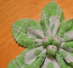 Easy Fabric Flower | Craftsy