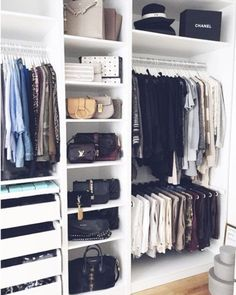 The changing of seasons is the perfect time for a closet clean out. These are the BEST tips for getting the job done (so you can shop for more, duh).