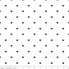 Knit Skies Heart Black by Simple Simon and Company for Riley Blake Cotton Knit Fabric Jersey Knit Heart Fabric Floral Jersey Fabric Hearts by Owlanddrum on Etsy