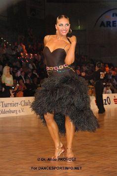 Beautiful black latin dress, Anna   Melnikova <3