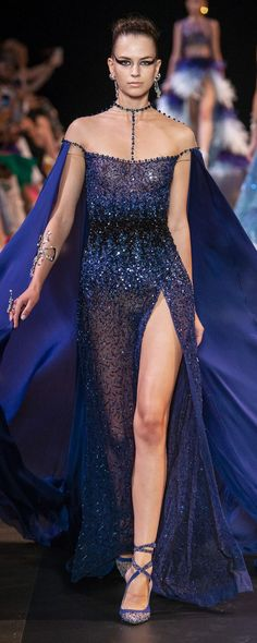 Georges Hobeika Fall-winter 2018-2019 - Couture - http://www.orientpalms.com/Georges-Hobeika-7223 - ©ImaxTree