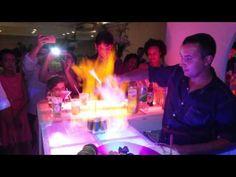 Vídeo de Clério José Borges. Bebidas. Festa. Cachaçada: Flamejante, a be...