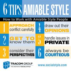 SOCIAL STYLE - Amiable Style