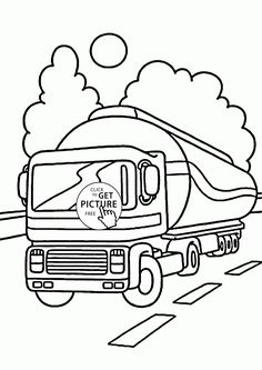 341 Best Transportation Coloring Pages Images On Pinterest