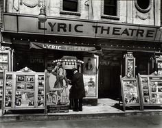 Berenice Abbott. Lyric Theatre, Third Avenue between 12th and 13th street, Manhattan. (April 24, 1936). NYPL Digital Gallery.