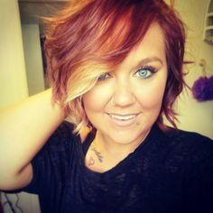 My blonde & red hair ♥