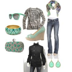 Cool Mint, created by ashleightgeorge.polyvore.com