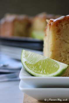 An exotic, dreamy Caribbean oral adventure. Bring rum at your own peril . Syrup Cake, Lemon Syrup, Lime Cake, Drizzle Cake, Key Lime, Rum, Tart, Caribbean, Pineapple