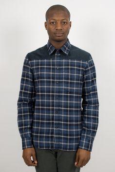 A.P.C. Plaid Shirt Marine    http://ideologyboutique.co.uk/apc-chemise-shirt-marine.html