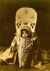Nez Pirece Indians   Nez Perce Indian Baby so cute, so darling!!