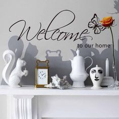 WELCOME – Wallsticker – YEY.NO