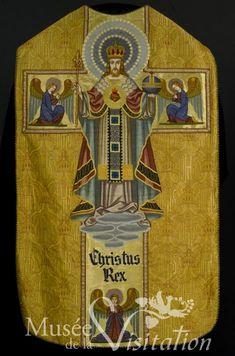 chasuble du Christ Roi