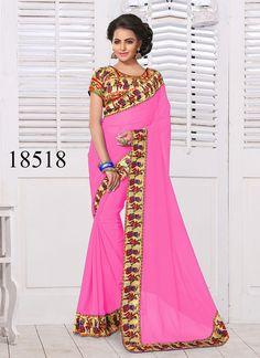 Saree Pakistani Bollywood Sari Partywear Ethnic Dress Wedding Designer Indian #TanishiFashion #DesignerSareeSari