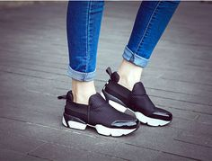 Black To Basics Sneakers