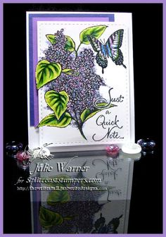 Lilac Note IC641 by justwritedesigns - IC Hostess at Splitcoaststampers