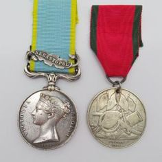 1854 Crimea Medal (Clasp - Sebastopol) and Turkish Crimea Medal (British Issue) - Pte. A. Fraser, 72nd Highlanders | Cultman Collectables