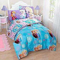 image of Disney® Frozen Reversible Comforter Set