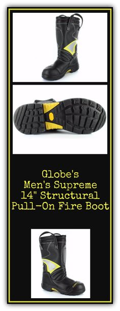 Globe SUPRALITE 14 Pull On Structural Firefighting Boot
