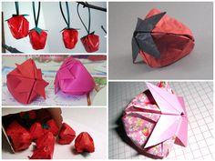 origami çilek