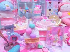 pinklovelypinkie Baby Pink Aesthetic, Retro Aesthetic, Cute Snacks, Cute Food, Kawaii Dessert, Kawaii Room, Strawberry Milk, Little Twin Stars, Everything Pink