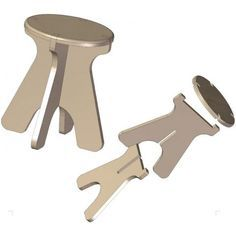 The collapsible stool, the plan of which you are offered here, is very handy for anyone who needs a reliable stool that can be quickly disassembled to save space in the house or during transportation.